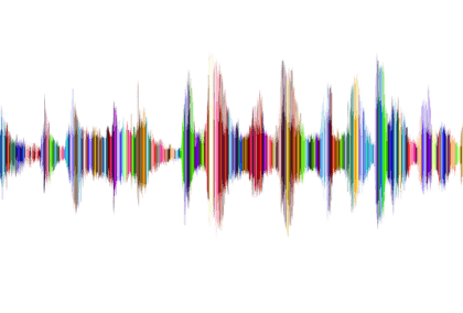 Onda sonora colorata