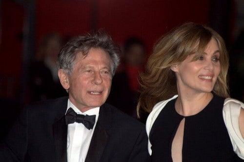 Polanski e la moglie