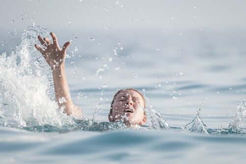Idrofobia, la paura dell'acqua