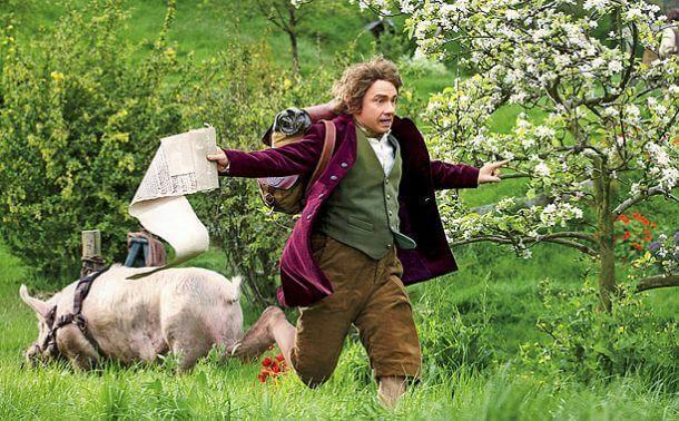 Hobbit che corre