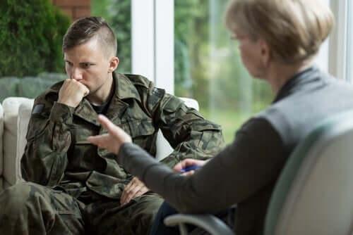 Psicologa e nevrosi da guerra
