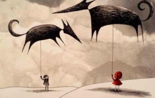 Le paure dei figli e il ruolo dei genitori