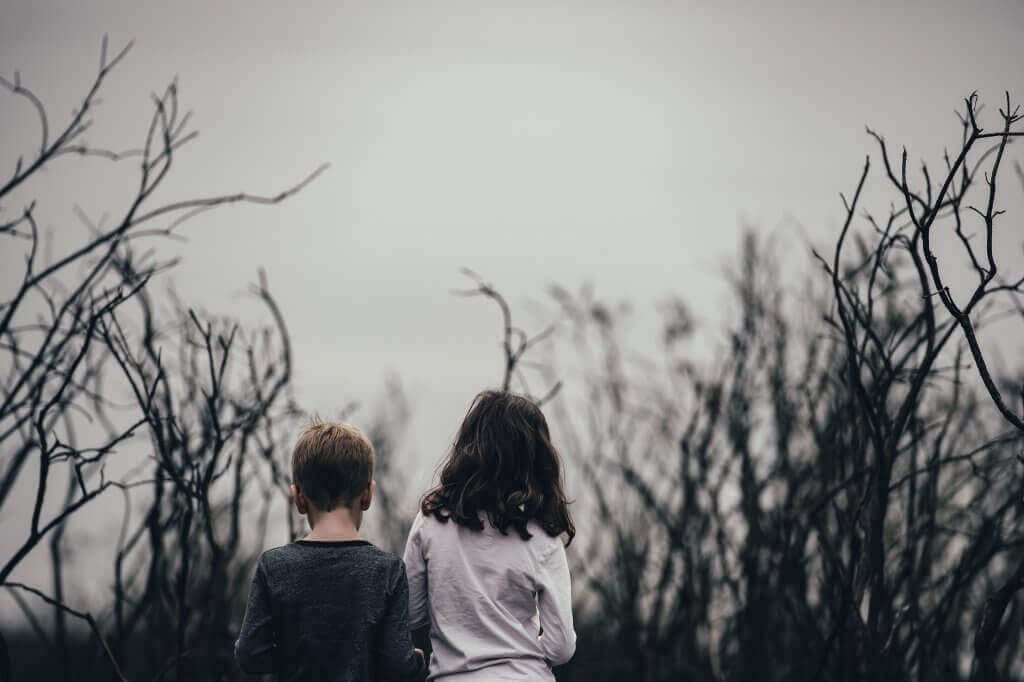Bambini depressi