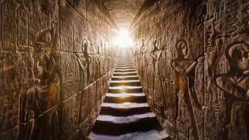La cultura egizia interno piramide