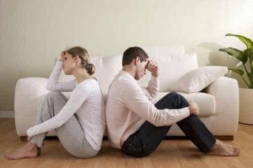 Problemi di coppia e disturbi psicologici