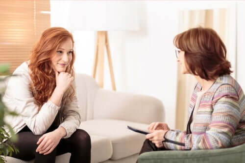 Psicologo in seduta