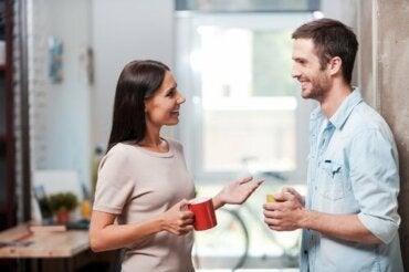 La distanza tra le persone nella comunicazione