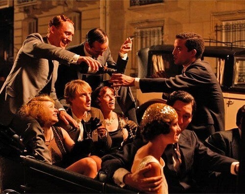 Scena da Midnight in Paris