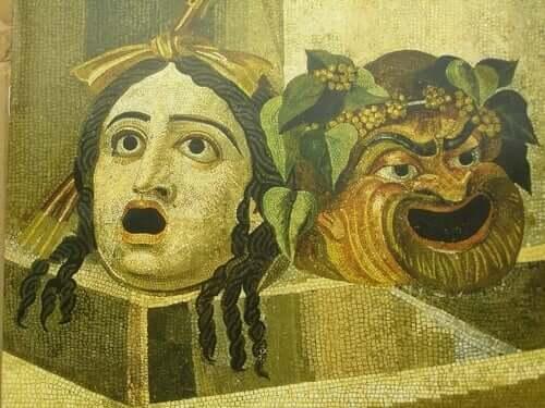 Maschere del teatro greco