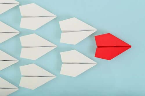 Rappresentazione della teoria della leadership