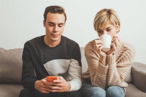 Attacchi di gelosia nella coppia