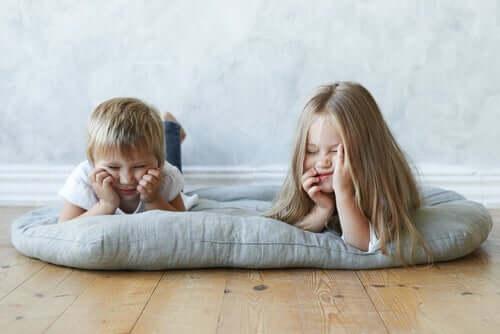 La noia nei bambini: quali effetti ha?