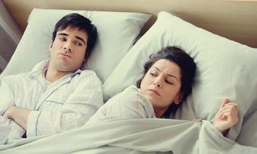 Andare a letto arrabbiati o preoccupati