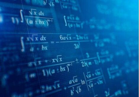 Calcoli matematici alla lavagna