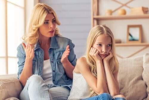 Genitori troppo esigenti: quali conseguenze?