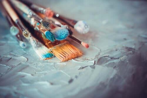 Pittura e pennelli