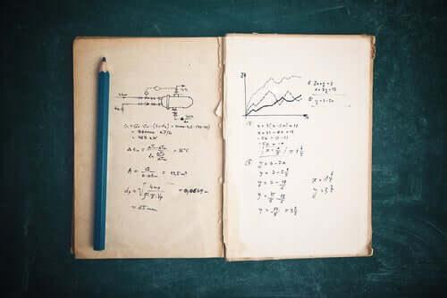 Quaderno con appunti