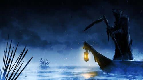 Il mito di Caronte e la morte