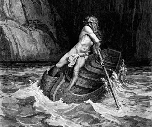 Il mito di Caronte, il traghettatore degli inferi