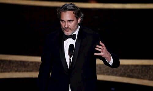Il discorso di Joaquin Phoenix dopo l'Oscar