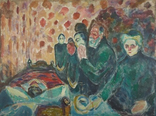 Lotta contro la morte di Edvard Munch