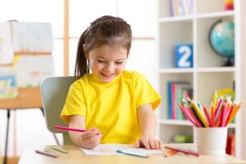 Benefici psicologici dei passatempi dei bambini