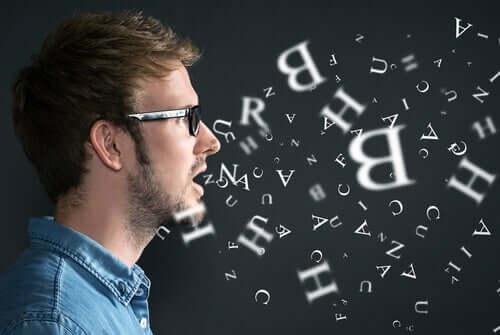 Mantenere il controllo anche sotto pressione, ragazzo e lettere