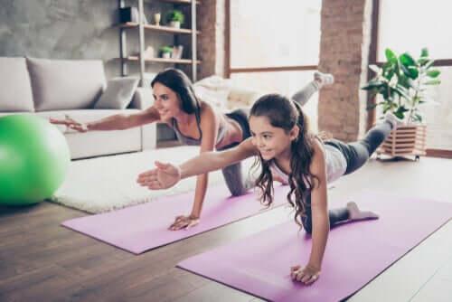 Sport in casa per i bambini: quali vantaggi