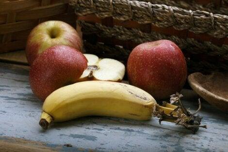 Mele e banana