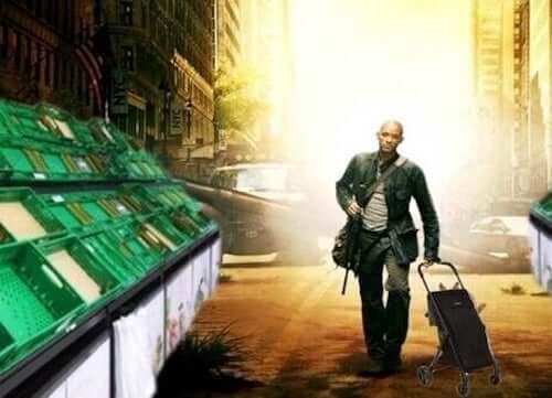 Will Smith uomo che va a fare la spesa al tempo del coronavirus