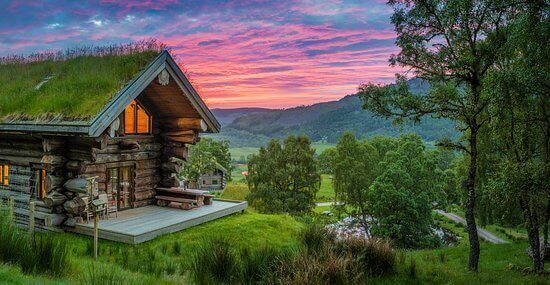Sindrome della capanna, casa immersa nella natura
