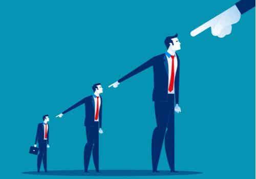 Dare la colpa agli altri, strategia molto comune