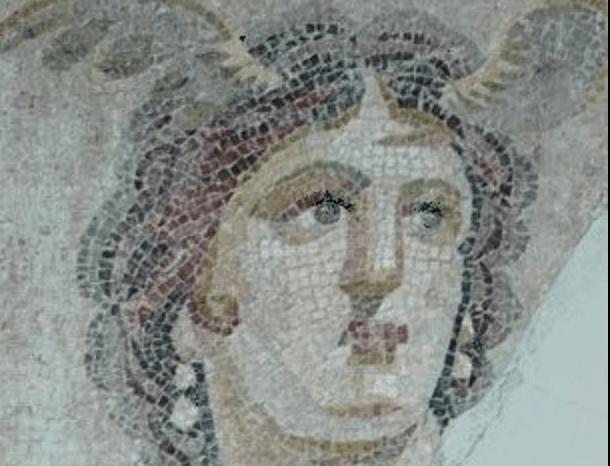 Teti, mosaico
