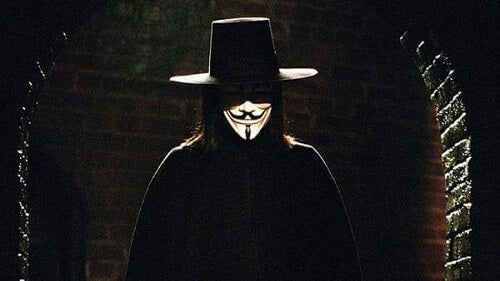 V per Vendetta e leader rivoluzionario