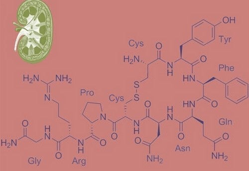 Composizione chimica della vasopressina