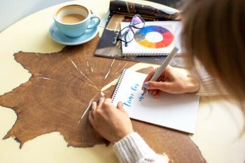 Lettering: un utile passatempo