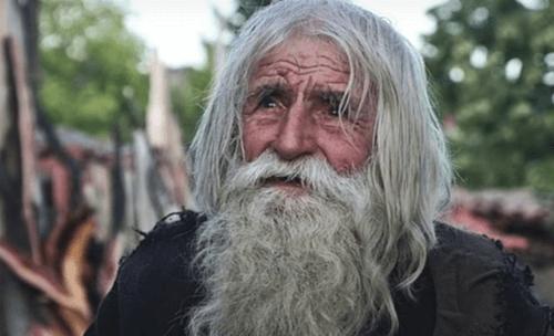 Nonno Dobri, mendicante benefattore