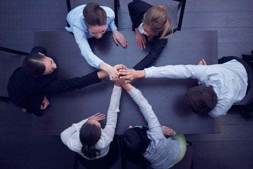 Collaborazione tra colleghi.