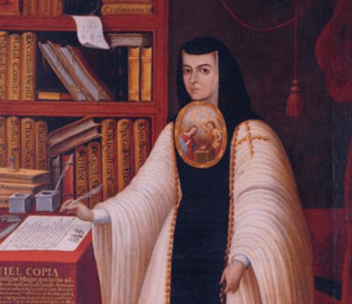 Dipinto Suor Juana