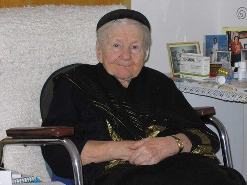 Irena Sedler anziana.