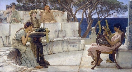 Saffo di Lesbo, una donna messa a tacere