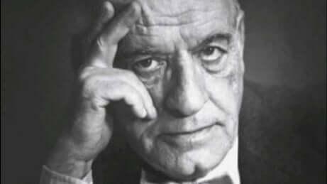 José Ortega y Gasset anziano