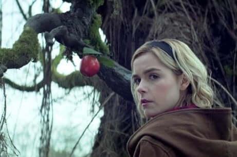 Scena della serie Sabrina