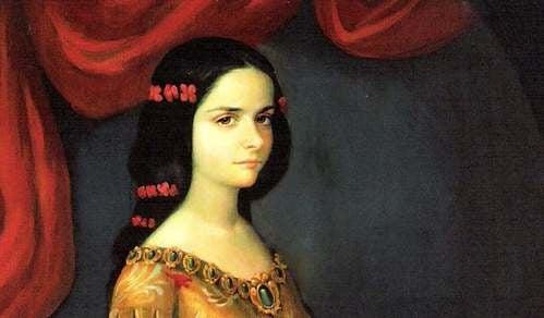 Suor Juana giovane
