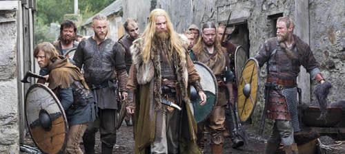 Scena della seria Vikings