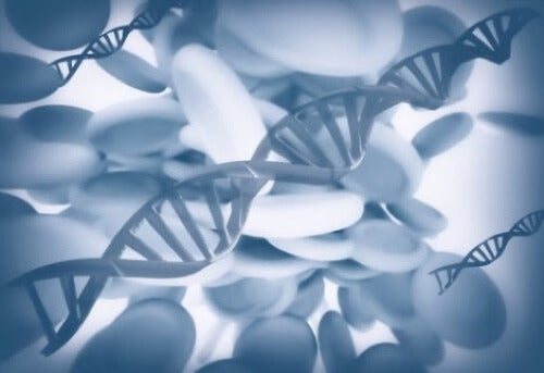 Esperimento di Poponin sul DNA.