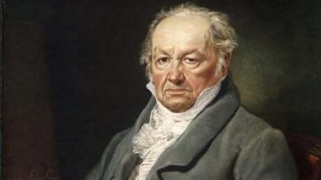 Ritratto del pittore Francisco de Goya de Vicente López Portaña.