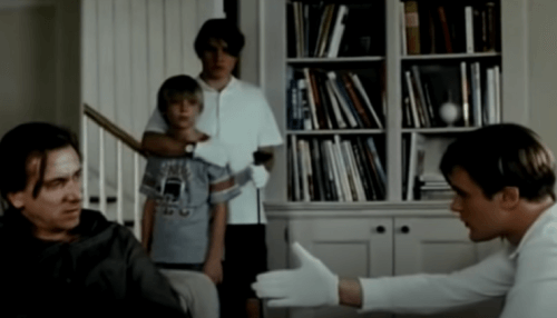 Scena di violenza del film Funny games.