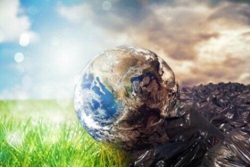Inquinamento della Terra.