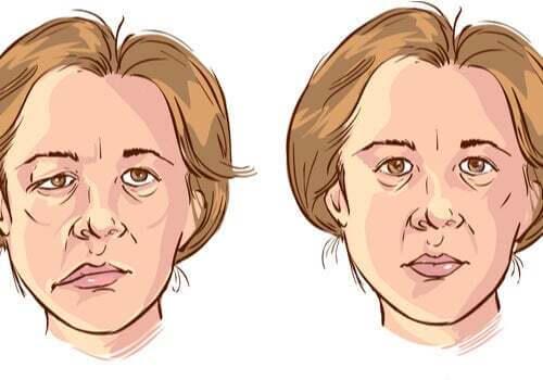 Illustrazione del viso di una donna.